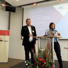 Andreas Dörr und Beatrice Zeiger beim 2. Deutschen Pflege-Rechts-Tag 2019