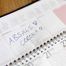 Eintrag im Kalender