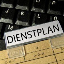 Dienstplan Erstellung