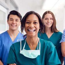 Teamzusammenhalt Krankenpflege